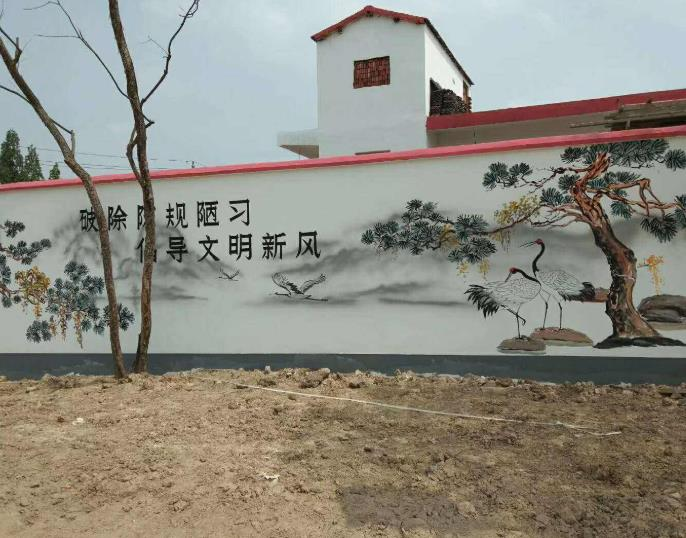苏州墙体彩绘
