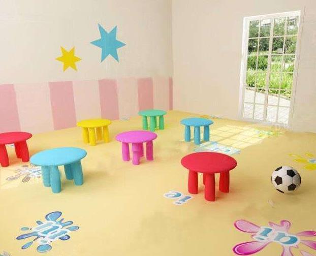幼儿园地板彩绘