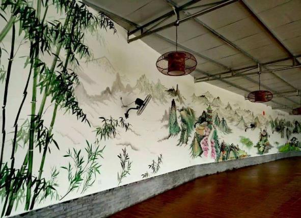苏州墙体彩绘价格